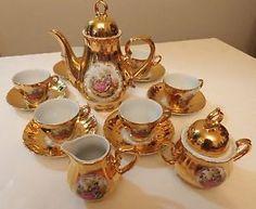 antique tea set - Google Search