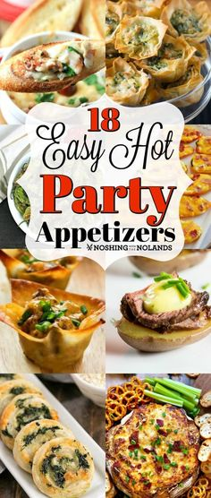 18 Easy Hot Party Appetizer Recipes are perfect for holiday entertaining! 18 Easy Hot Party Appetizer Recipes are perfect for holiday entertaining! Hot Fudge Cake, Hot Chocolate Fudge, Winter Desserts, Desserts For A Crowd, Easy Appetizer Recipes, Appetizers For Party, Warm Appetizers, Party Desserts, Party Snacks