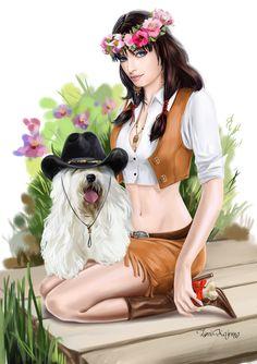 Cowboy by Kajenna.deviantart.com on @DeviantArt