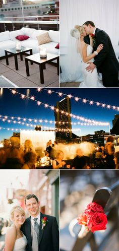 Nashville Rooftop Wedding by Kate Murphy Photography | The Wedding Story