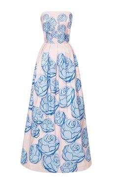 Spring Garden Gown by Katie Ermilio for Preorder on Moda Operandi