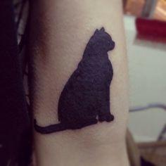 cat tattoo! Alyssssssaaaa!