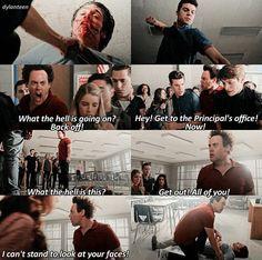 Teen Wolf 6x14 Coach saves Liam