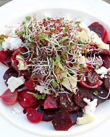 Beet Salad with Goat Cheese, Green Apple, and Honey - Martha Stewart Recipes