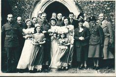 My mum's wedding picture at West Wickham