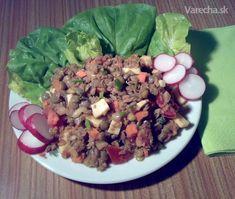 Šošovicovo-tuniakový šalát - Recept