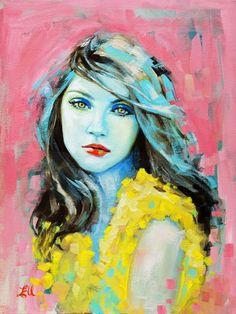 Artist Emma Uber   pastel portraits