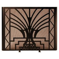 Fireplace Screen If 001 Art Deco Jpg