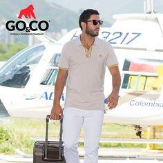 Cada día puede ser el fin de un viaje o el comienzo de uno nuevo. Vívelo con nuestras #PolosGoco #LaMarcaDelGorila Despachamos a todo Colombia y recibimos todos los medios de pago.  #LaMarcaDelGorila #BeGoCo #Casualwear #Style #MenCollection #menstyleguide #polos #mensfashion #mensclothing #stylegram #fashiongram #algodón #cotton #hechoencolombia