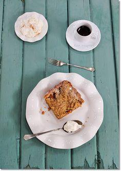 Gizi-receptjei: Morzsás almás pite.