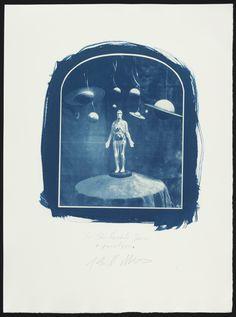 """John Metoyer, """"Cyanotype Proof of 'Sir John Herschel's Dream'"""" (2004) (© John Metoyer) (click to enlarge)"""