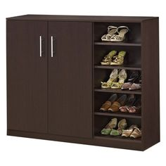 Shoe Cabinet Design, Shoe Storage Cabinet, Storage Cabinets, Shoe Cabinets, Entryway Storage, Bedroom Storage, Ikea, Rack Design, Design Design