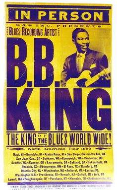 B.B.King-Show-Poster by Hatch
