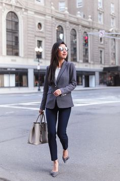 business casual work wear // by extra petite fashion blog