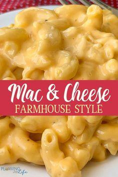 Homemade Mac And Cheese Recipe Velveeta, Quick Mac And Cheese, Crockpot Mac N Cheese Recipe, Cheesy Mac And Cheese, Macaroni Cheese Recipes, Creamy Macaroni And Cheese, Cheddar Cheese, Velveeta Mac And Cheese, Macaroni And Cheese Recipe Using Evaporated Milk