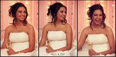A very happy bride. #knots and vows #wedding photography #mumbai wedding photography #smiling #happy bride