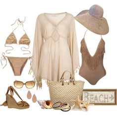 """""""Boho Beach Chic"""" for Cabo Boho Outfits, Summer Outfits, Cute Outfits, Fashion Outfits, Summer Clothes, Cruise Fashion, Pool Fashion, Women's Fashion, Pool Party Outfits"""