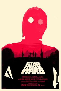 $20-50, Star Wars: A New Hope - Olly Moss      added to Alamodrafthouseposters