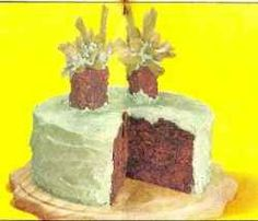 This fruit cake is loaded with tropical fruits...and includes chocolate! Yumm...What more could you ask for? It's heaven on a Tropical Island...
