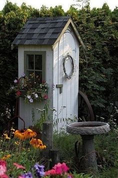 <b>Call the charm police!</b> These garden sheds are so cute, they make you want to die.
