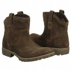 Timberland Willis Chelsea WP Boots (Dark Brown Suede) - Women's Boots - 6.5 M