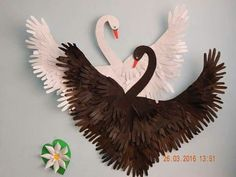 - Nature Crafts For Toddlers Fine Motor - Pet Animal Crafts For Kids Kitty - - Bird Crafts, Animal Crafts, Nature Crafts, Paper Birds, Paper Flowers, Diy Arts And Crafts, Diy Crafts For Kids, Craft Ideas, Simple Crafts