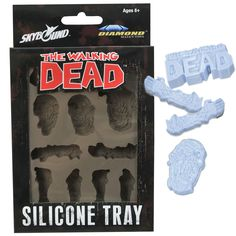 walking dead ice trays | The Walking Dead Silicone Ice Tray