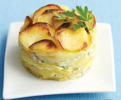Gratin dauphinois au Cooking Chef
