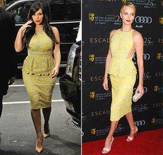 Kim Kardashian / Charlie Theron in Stella McCartney
