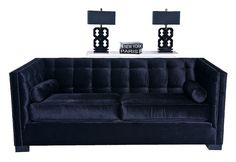 4201 BLACK ROCKER COUCH + 4082 HIGH GLOSS BLACK CRISS CROSS LAMPS | Flickr - Photo Sharing!