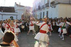 Una imagen del Festival Folclórico Internacional de Fregenal de la Sierra que está considerado Fiesta de Interes Regional.