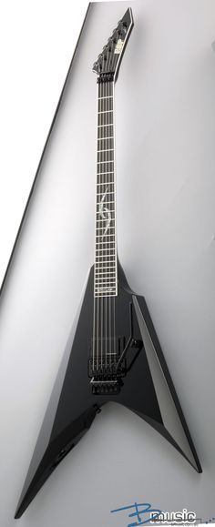 ESP Jesse Liu Katana 6... personally I'm not a fan of the Flying V shaped guitars, however this is a superb, pure, pristine interpretation of the much loved design.