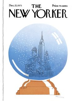 The New Yorker - Monday, December 22, 1975 - Issue # 2653 - Vol. 51 - N° 44 - Cover by : Robert O. Blechman