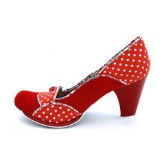 Lady Bug Polka Dot shoes ~ Irregular Choice