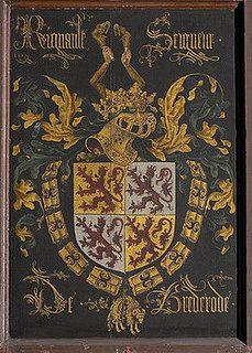 1468 Wapenbord Reinoud II OLV Brugge, Seigneurde Vianen