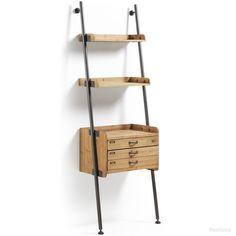 Belamo boekenkast met laden   LaForma-Kave