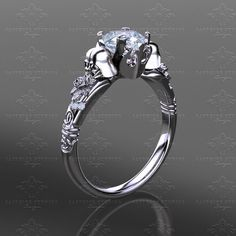 This Star Wars Themed Engagement Ring Includes Mini Vader Helmets