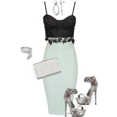 Untitled #81 by bkohn on Polyvore featuring polyvore fashion style Jane Norman Atmos&Here BCBGeneration Apt. 9