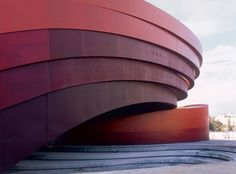 The Design Museum Holon (2010) in Tel Aviv designed by Ron Arad Architects,