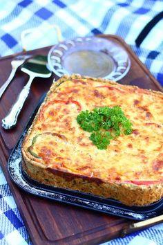 Mehevä broileri-kasvispiirakka - Suklaapossu I Love Food, Good Food, Ham Quiche, Bakery, Food And Drink, Cooking Recipes, Favorite Recipes, Lunch, Cheese