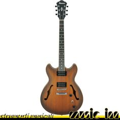 IBANEZ AS53-TF - Chitarra Semiacustica Hollow-body - Colore Tobacco Flat