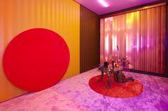 Alex da Corte, Installation view of Die Hexe (2015). Photo: courtesy of Luxembourg & Dayan.