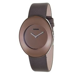 Rado Women's R53739336 'Esenza' Brown Stainless Steel Swiss Quartz Watch - Overstock™ Shopping - Big Discounts on Rado Rado Women's Watches