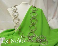 ΧΕΙΡΟΠΟΙΗΤΑ ΚΟΛΛΙΕ This Is Us, Chain, Handmade, Jewelry, Fashion, Moda, Hand Made, Jewlery, Jewerly