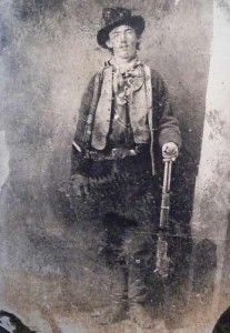 The ONLY authenticated photo history has of Billy the Kid.  William Koch bought this original tintype at auction for 2.3 million dollars back on June 2011.