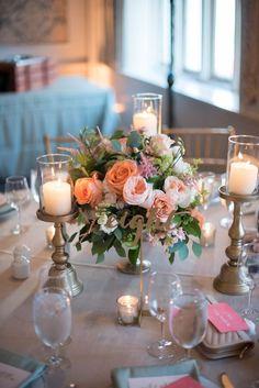 Featured Photographer: Eli Turner Studios; wedding centerpiece idea