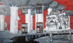 Urban art shots: Kislow : Distorsion Urbana
