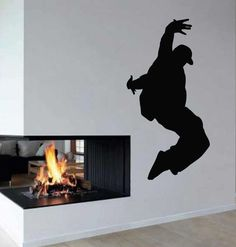 Wall Decals Vinyl Decal Sticker Art Murals Decor Boy Dancer Break Dance Kj768