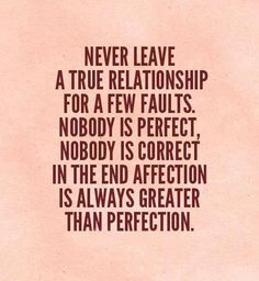 Relationship, perfect, affection