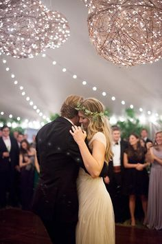 A sweet first dance to a swing band | Brides.com